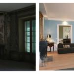 Le grand salon du manoir de Chindrieux