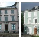 La façade d'un projet à Etrembières